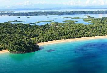 Bastimentos Island in Bocas del Toro, Panama