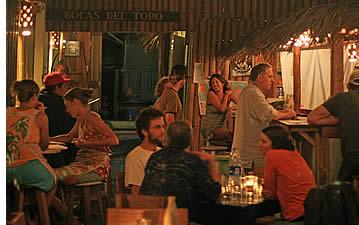 Restaurants in Bocas del Toro, Panama