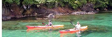 Zeekajakken in Bocas del Toro