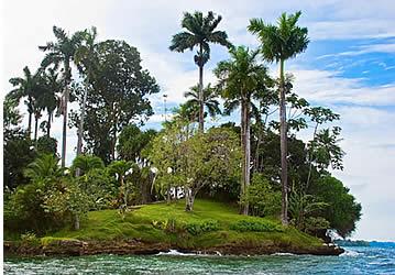 Solarte isola a Bocas del Toro, Panama